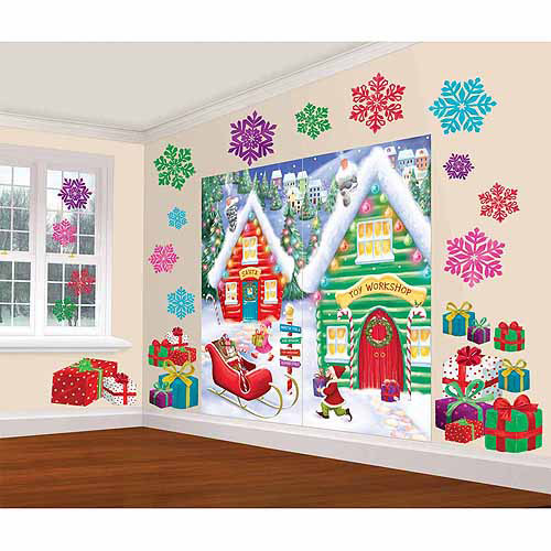 North Pole Scene Decoration