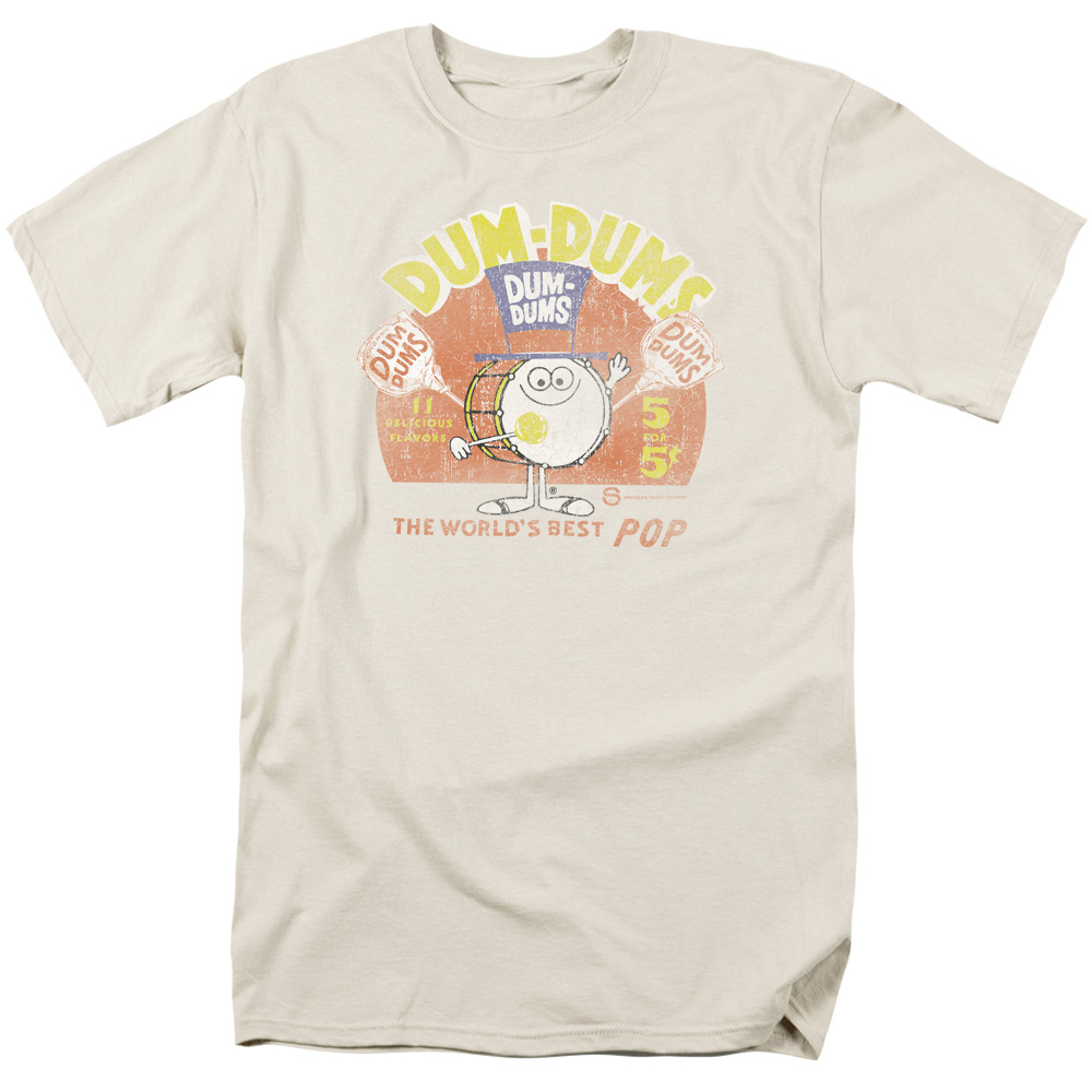 Dum Dums/Best Pop   S/S Adult 18/1   Cream     Dum100