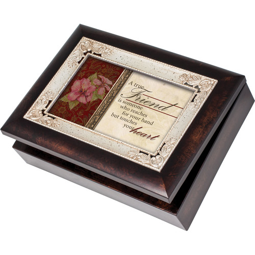 Cottage Garden Italian Style True Friends Music Box