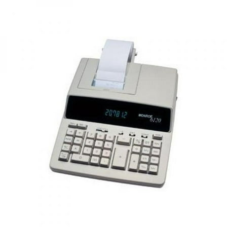 Monroe 6120 Heavy Duty   Print Display Calc  6120