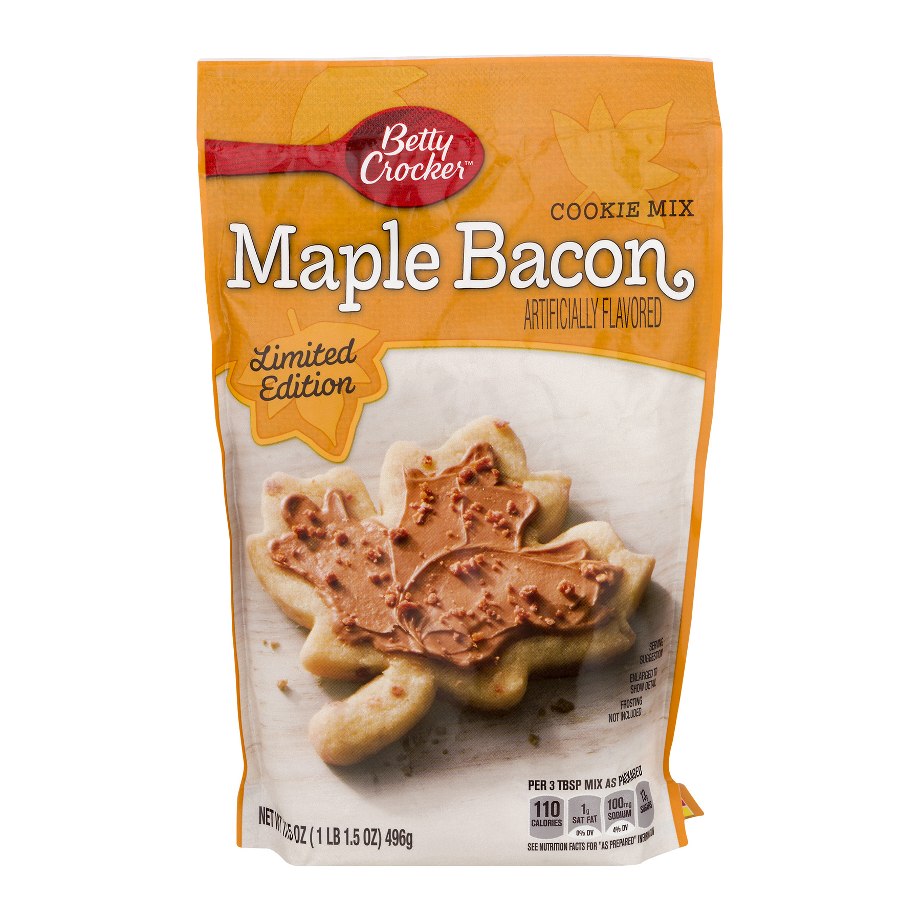 Betty Crocker Cookie Mix Maple Bacon, 17.5 OZ