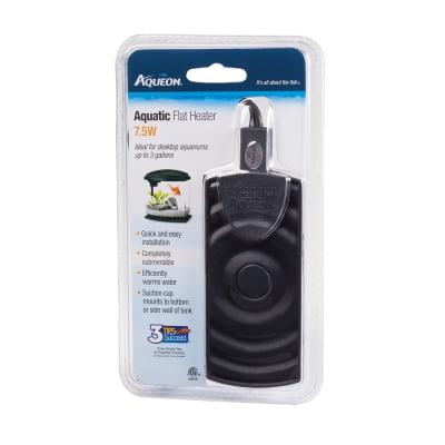 Aqueon Flat Aquarium Heater, 7.5-Watt