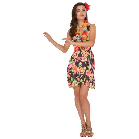 Hawaiian Ladies Costume - Lilo Hawaiian Costume