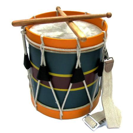 - Revolutionary/Civil War Era Reproduction Marching Band Wooden Drum