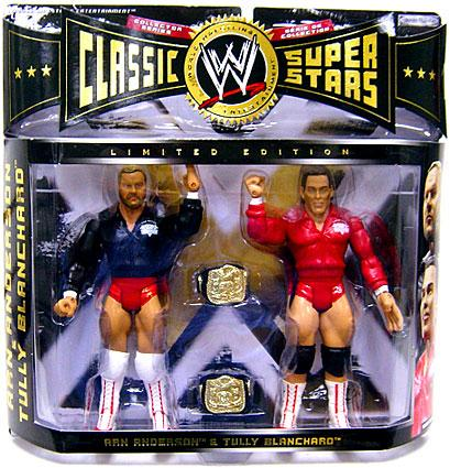 Arn Anderson & Tully Blanchard Action Figure 2-Pack WWE Wrestling