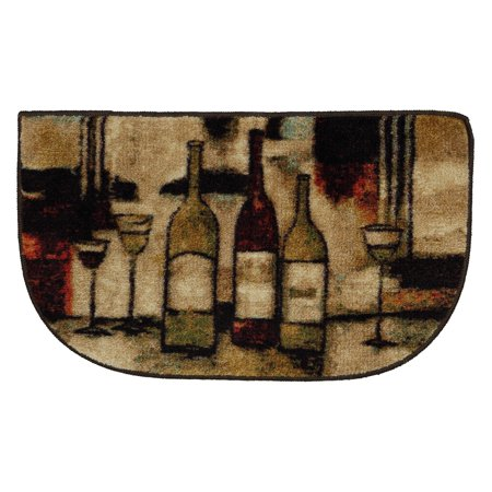 Mohawk Home Wine And Glasses Slice Rug   1 5 X 2 5 Ft