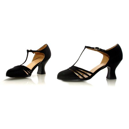254-LUCILLE, 2.5'' Heel Satin Dance Adult Shoes