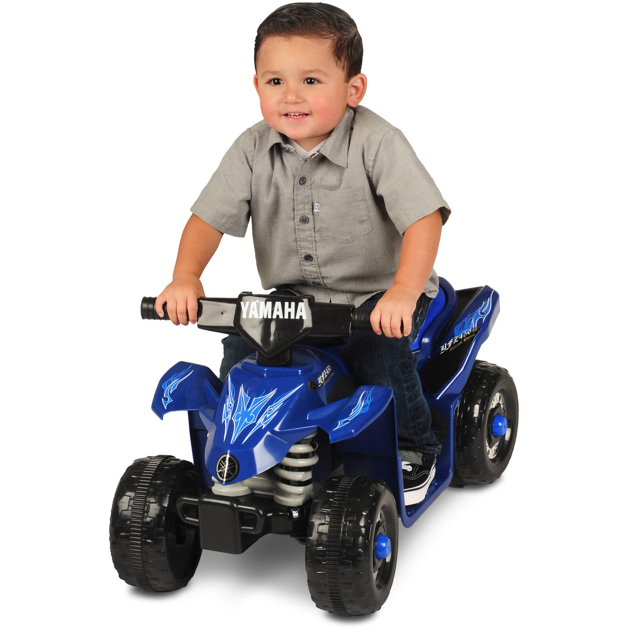 Yamaha ATV 6-Volt Battery-Powered Ride-On - Walmart.com
