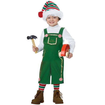 Jolly Lil' Elf Toddler Costume (Lil Monster Toddler Costume)