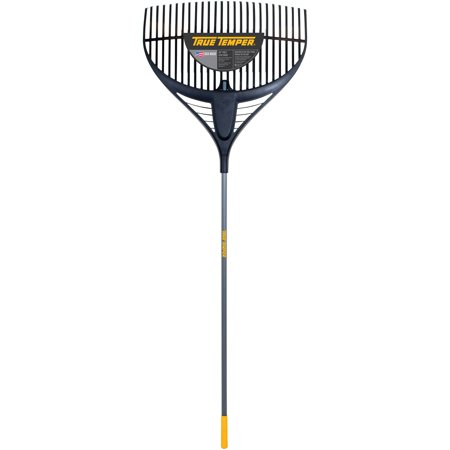 True Temper 2919200 64   Collector Series Poly Leaf Rake With 26   Steel Handle
