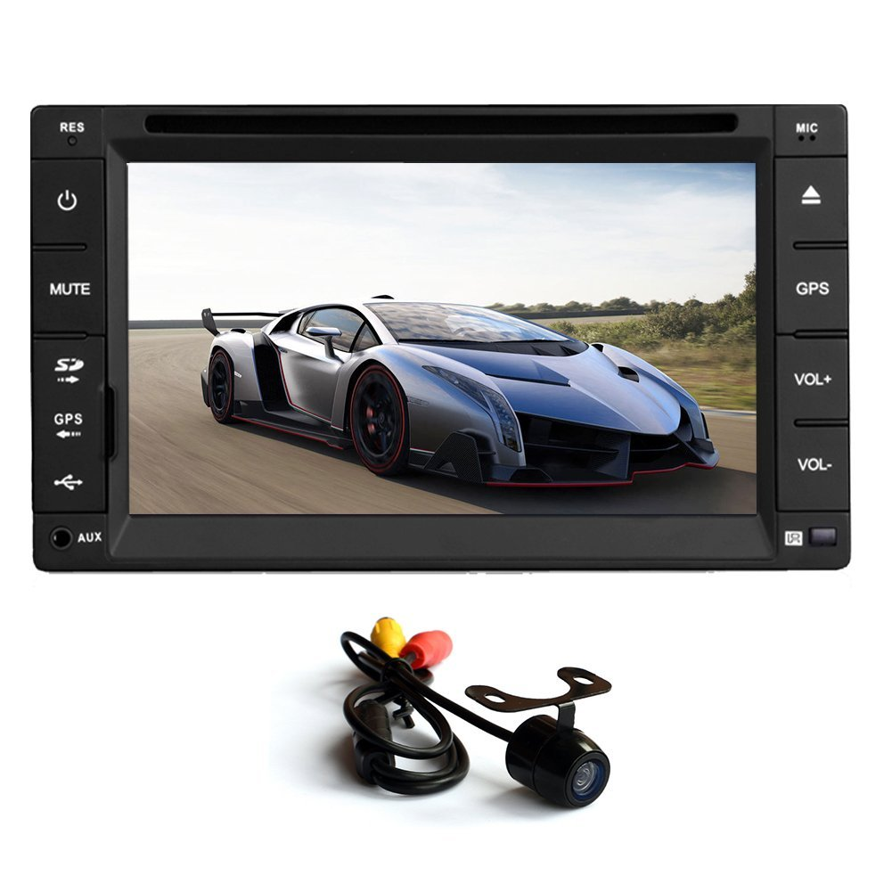 6.2'' Touch Screen Car GPS Audio system In Dash Naviagtio...