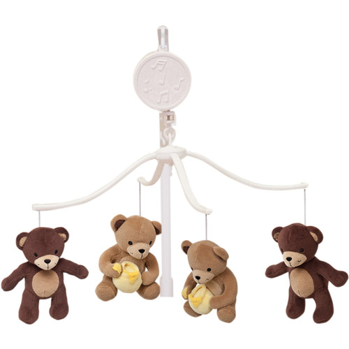 Bedtime Originals by Lambs & Ivy - Honey Bear Musical Mobile
