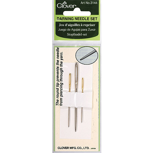 Clover Darning Needle Set, 3 Sizes