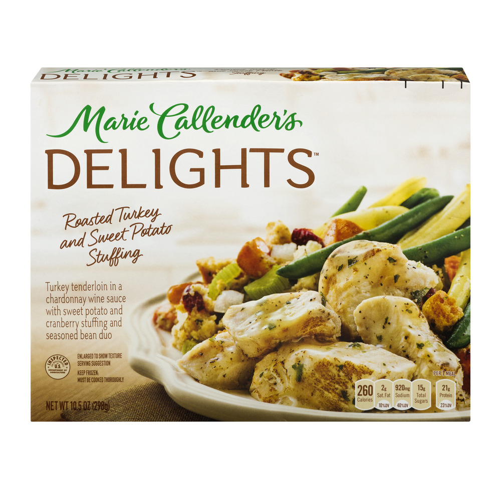 Marie Callender's Delights Roasted Turkey and Sweet Potato Stuffing, 10.5 OZ