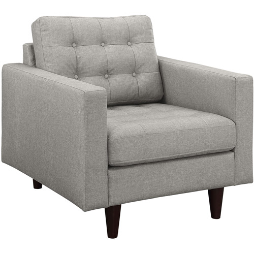 Modway Empress Upholstered Tufted Armchair, Multiple Colors by Modway