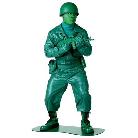 Plus Size Green Army Man - Adult Green Army Man Costume