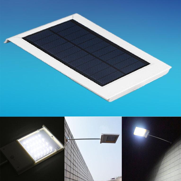 12 LED Ultra-thin Waterproof Solar Sensor Wall Street Light Outdoor Lamp by