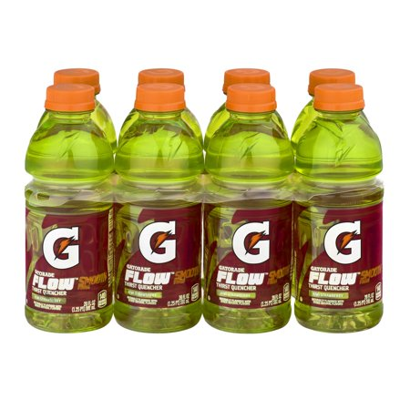 Gatorade Flow Thirst Quencher Kiwi Strawberry Sport Drink, 20 Fl. Oz., 8 Count
