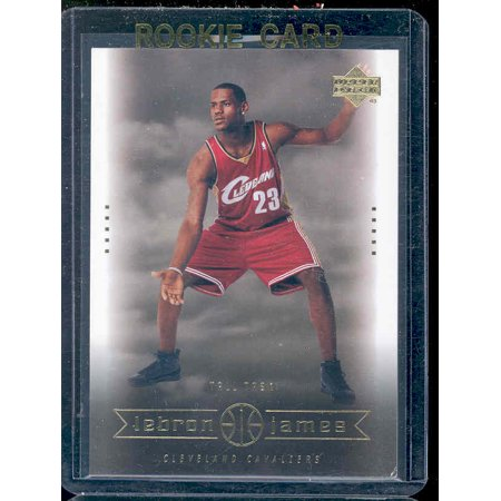 2003 Upper Deck #27 Tall Task Lebron James Cavaliers NBA Rookie - Lebron James Nba