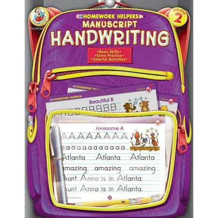 Manuscript Handwriting, Grade 2