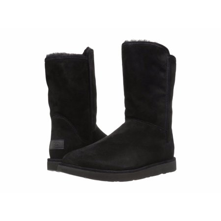 UGG Woman's Abree Short II Zip Shearling Lined Boots (Ugg Shearling Hat)