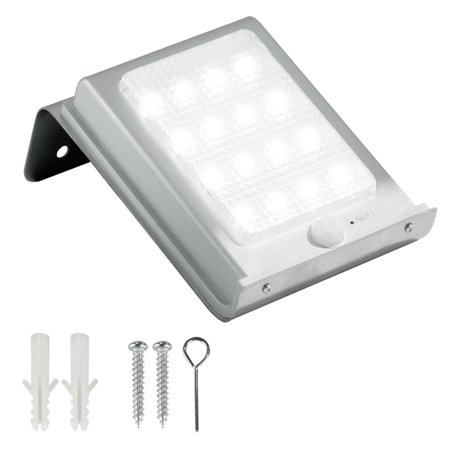 Jml 16 Led Solar Wall Light Solar Powered Security