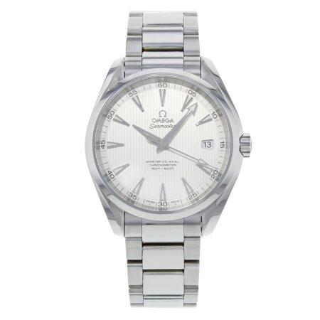 Omega Seamaster Aqua Terra Silver Steel Automatic Mens Watch 231.10.42.21.02.003