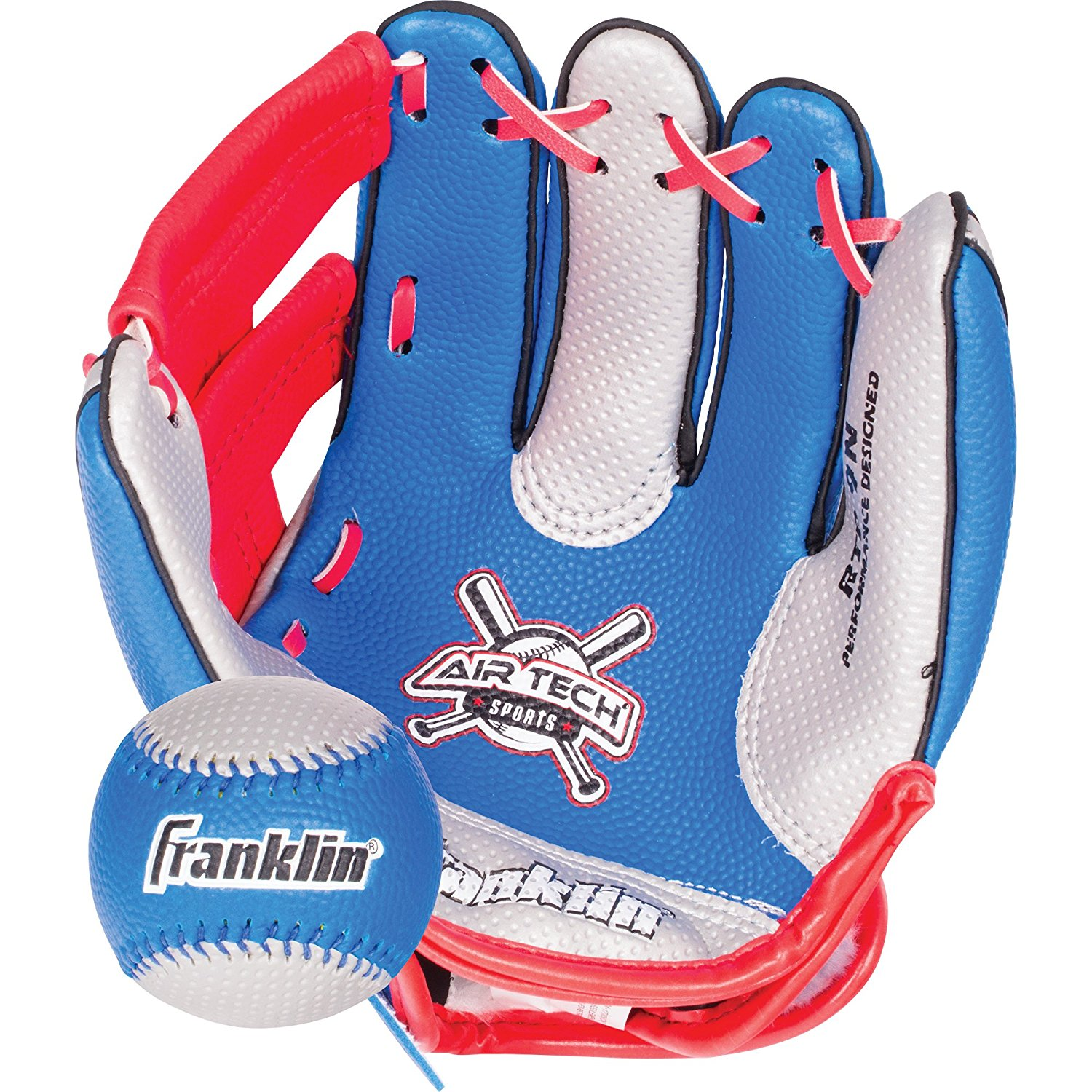 Air Tech Soft Foam Baseball Glove and Ball Set Special Edition, Ball Superman MLB Left... by