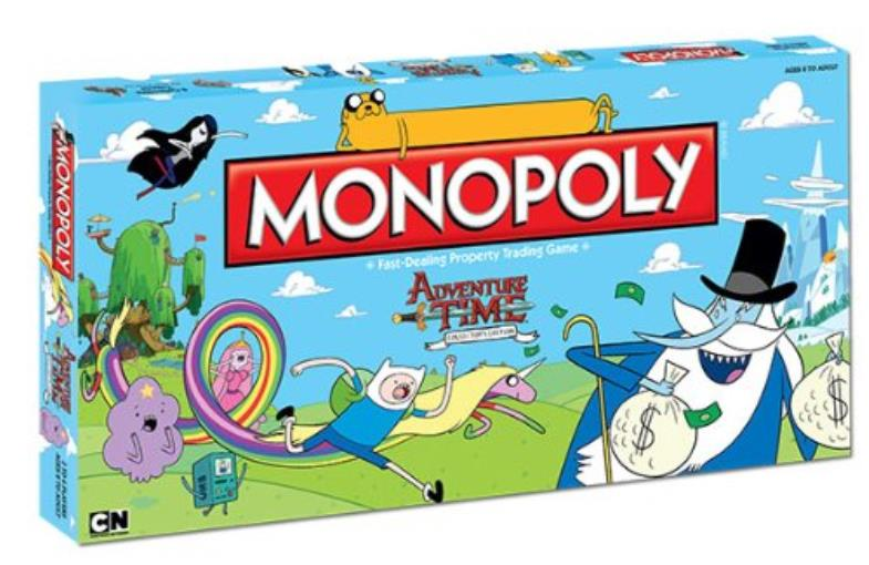 Monopoly Adventure Time EX by USAopoly