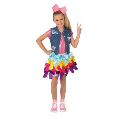Joho Siwa Girls Bow Dress - Mojo Jojo Costume