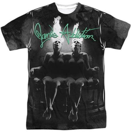 Jane's Addiction New Orleans Halloween (Janes Addiction Men's  Nothings Shocking Sublimation T-shirt)