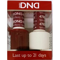 DND Nail Polish Gel & Matching Lacquer Set - 478 SPICED BERRY