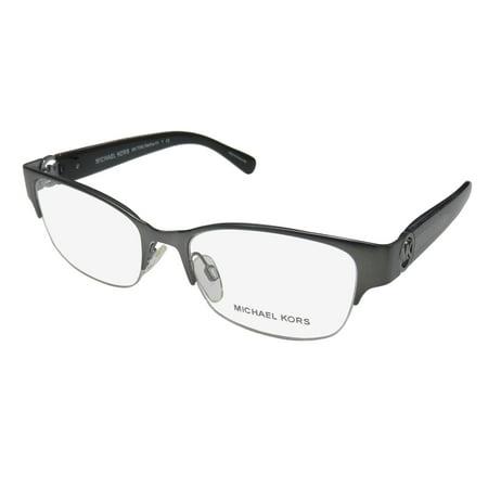 69edc973795e New Michael Kors Tabitha VI 7006 Womens/Ladies Cat Eye Half-Rim Gray /  Glitter Frame Demo Lenses 50-16-135 Eyeglasses/Eyeglass Frame - Walmart.com