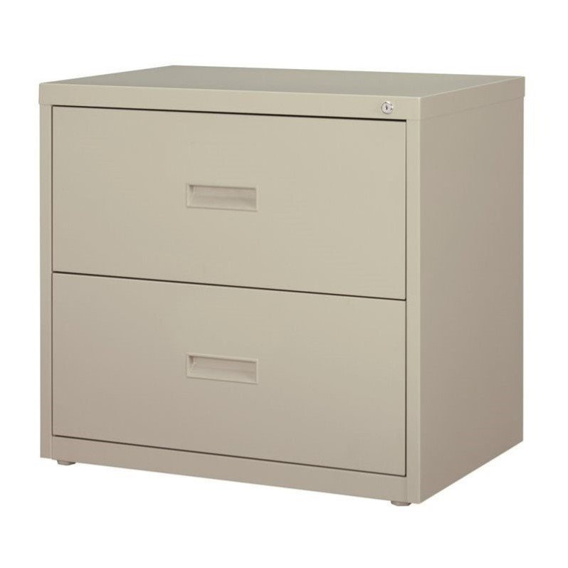 Merveilleux HL1000 Series 30 Inch Wide 2 Drawer Lateral File Cabinet, Light Gray