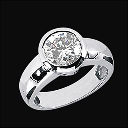 Harry Chad Enterprises 489 2.51 CT H SI1 Diamond Solitaire Ring - image 1 of 1