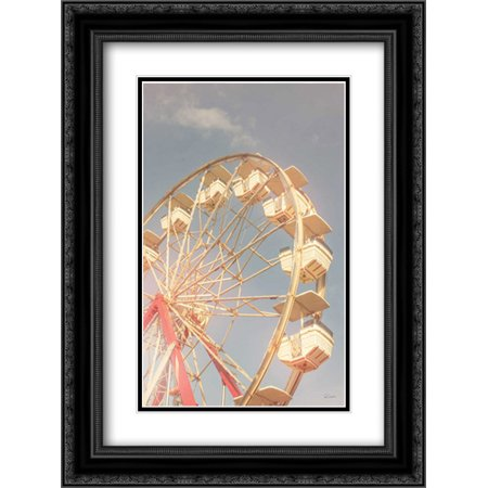 Sky Tops - Top of the Sky II 2x Matted 18x24 Black Ornate Framed Art Print by Schlabach, Sue