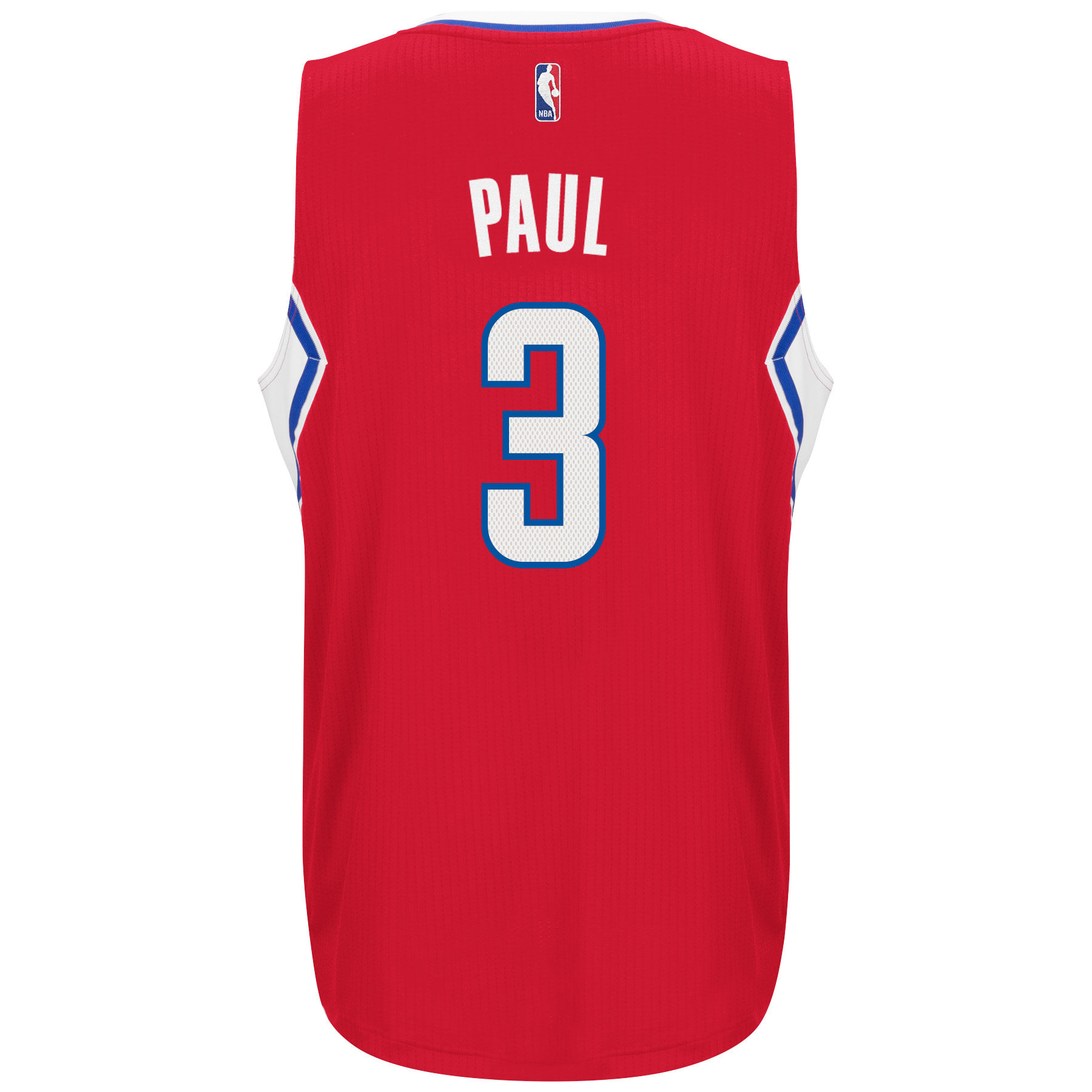 Chris Paul Los Angeles Clippers Adidas Road Swingman Jersey (Red)