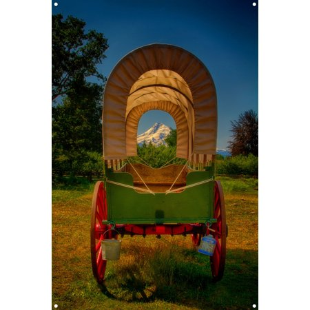 - Kate's Covered Wagon, Oregon Trail Metal Art Print by Nicholas Bielemeier (12