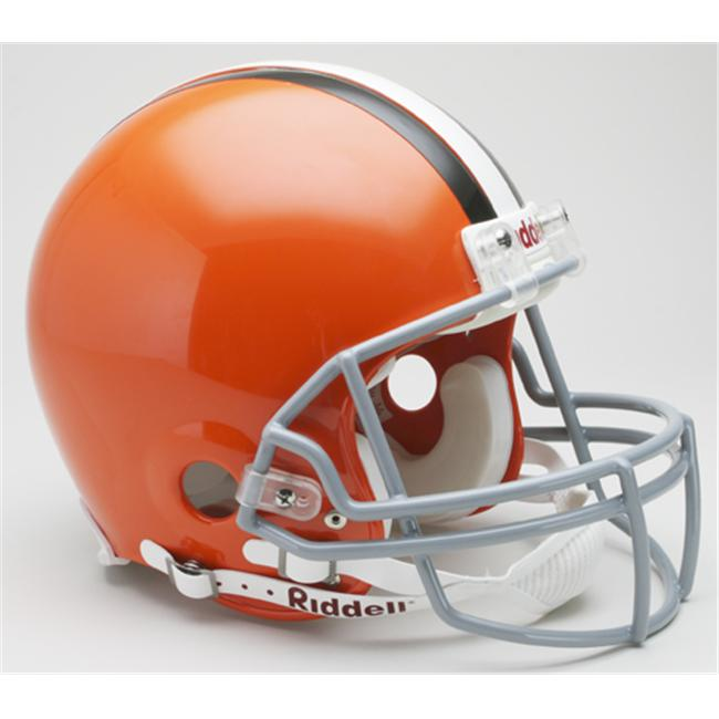 Creative Sports RD-BROWNS-A Cleveland Browns Riddell Full Size Authentic Proline Football Helmet