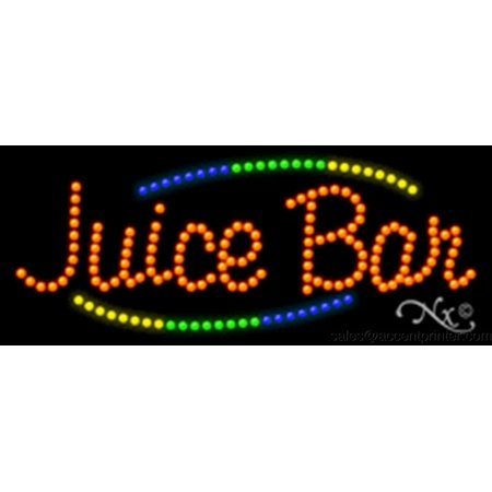 - Juice Bar Indoor High Impact Energy Efficent LED Sign