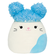 Squishmallow Squish Doos 8 inch Cora the Cat with Blue Hair Stuffed Animal