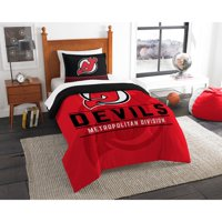 New Jersey Devils The Northwest Company NHL Draft Twin Comforter Set