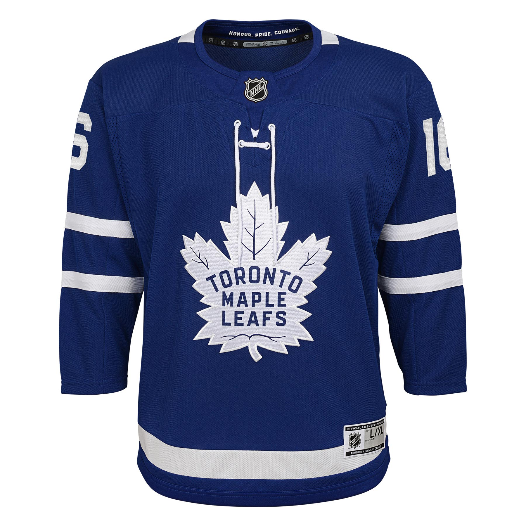 san francisco 46bf5 94d7f Mitch Marner Toronto Maple Leafs NHL Premier Youth Replica Hockey Jersey -  NHL Team Apparel