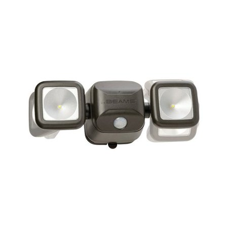 Mr. Beams High Performance 2-Light LED Outdoor Flush Mount with Motion Sensor