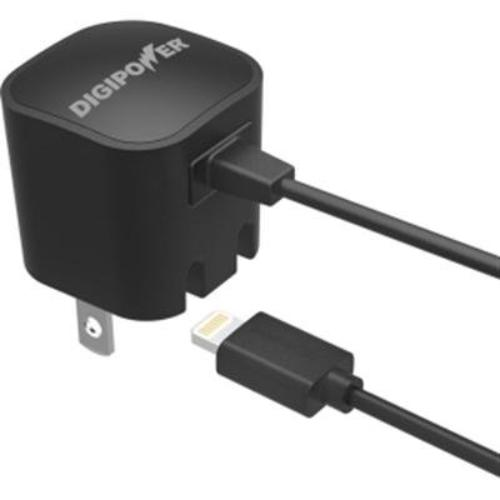 Digipower Wall Charger With Lightning Cable Ip-ac1l-t - 5 W Output Power - 1 A Output Current (ip-ac1l-t)