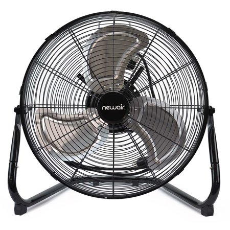 Compact Floor Fan - NewAir 18-inch High Velocity Portable Floor Fan