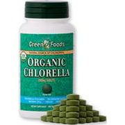 Organic Chlorella 200mg Green Foods 300 Tabs