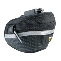 Topeak Wedge Pack II Clip-On Quick Release Seat Mount Expanding Bike Bag w/Cover