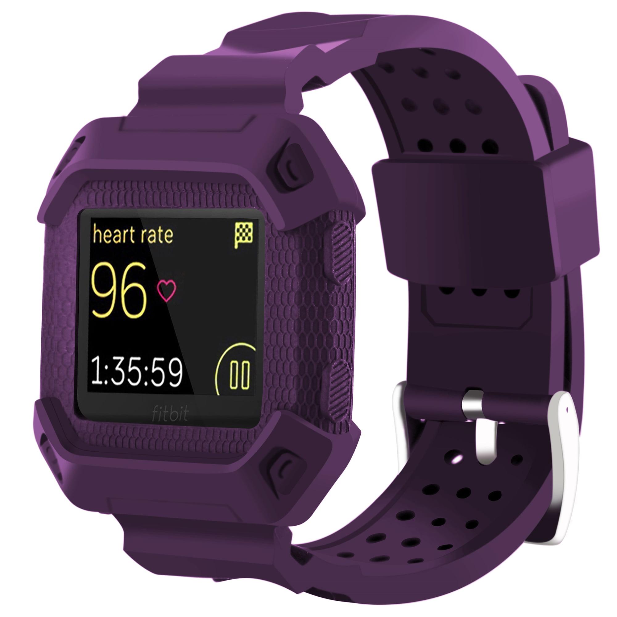 Moretek for Fitbit Blaze Band Strap(Purple)