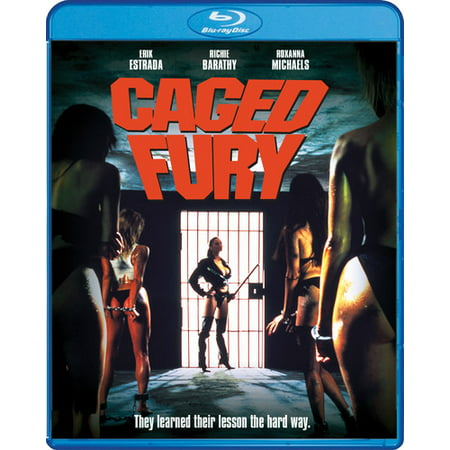 Caged Fury (Blu-ray)